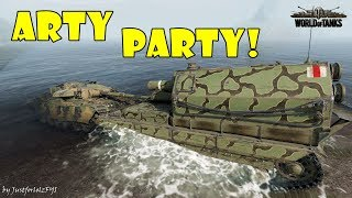 World of Tanks - Funny Moments | ARTY PARTY! #53