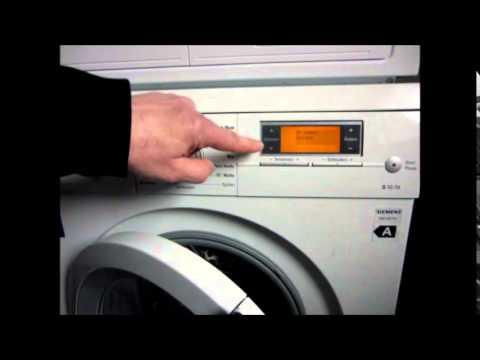 Waschmaschine Teil 6 Fehlersuche Siemens