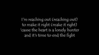 Treat   Caught in the line of fire lyrics HQ