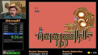 Journey to Silius NES speedrun in 12:40 by Arcus