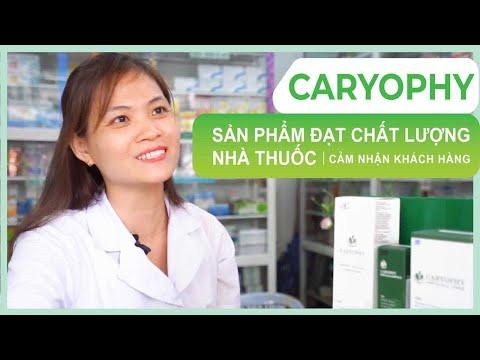 Chuỗi nhà thuốc ở sài gòn đã nói gì về dòng sản phẩm thần thánh Caryophy