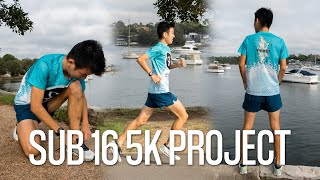 10 x Min On/Float WORKOUT   SUB 16 5K PROJECT #1