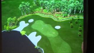 preview picture of video 'Kuala Lumpur Golf and Country Club - WEST COURSE - 15th Hole'