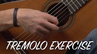 Beginning Tremolo Classical Guitar Exercises