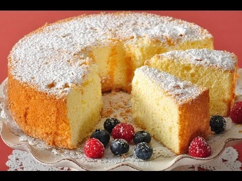 American Sponge Cake Recipe Demonstration – Joyofbaking.com