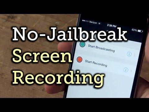 Quay phim màn hình iPhone có âm thanh [NO JAILBREAK]