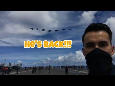HE'S BACK!!!   LTJG PATRICK J. BOLTON   ReaCyDel Vlogs