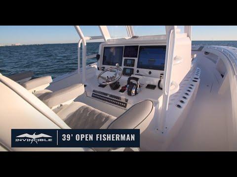 Invincible 39 Open Fisherman - IN STOCK video
