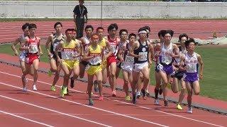 2017岩手県陸上競技選手権大会1部男子1500メートル決勝