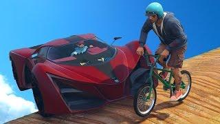 САМЫЙ СЛОЖНЫЙ ПАРКУР НА BMX! (GTA 5 Смешные Моменты)