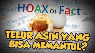 Hoax or Fact: Telur Asin Kenyal dan Bisa Memantul?