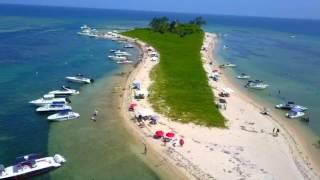IMPACTANTE VIDEO DE LA ISLA DE ENMEDIO, VERACRUZ. MEXICO