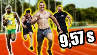 Atak na rekord świata Bolta *SPRINT CHALLENGE*