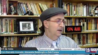 Reinaldo Azevedo: Podem xingar à vontade, não desisto da batalha. Vamos pra briga