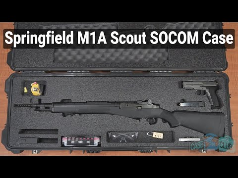 Springfield M1A Scout / SOCOM / Ruger Mini-14 / Ruger 10/22 Case (Gen-2) - Featured Youtube Video