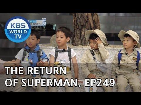 The Return of Superman | 슈퍼맨이 돌아왔다 - Ep.249: From Mount Halla to Mount Paektu [ENG/IND/2018.11.04]