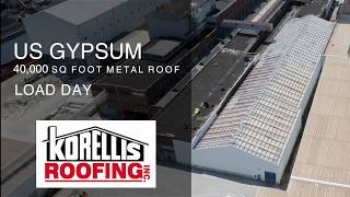 Korellis Roofing US Gypsum Load Day