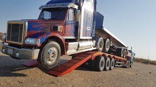ТРАЛ ДЛЯ ГРУЗОВИКОВ от TMC ... Обзор и тест на Tamiya RC Truck