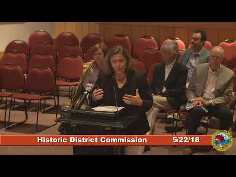 Historic District Commission 5.22.2018