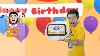 Happy Birthday Song | Nursery Rhymes and Songs for Kids by Songs with Simon