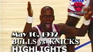 May 10, 1992 Bulls Vs Knicks Game 4 Highlights