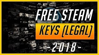 HOW TO GET FREE STEAM KEYS !! (LEGAL 100%)