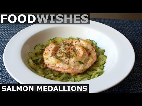 Salmon Medallions – Food Wishes