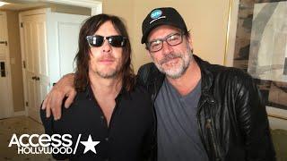 Norman Reedus & Jeffrey Dean Morgan On 'The Walking Dead' S7 Premiere Deaths | Access Hollywood