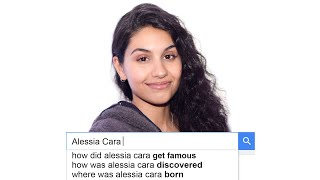 Alessia Cara Answers the Web's Most Searched Questions   WIRED