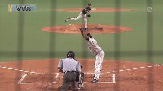 阪神藤浪13奪三振でプロ初完投!143球力投!対中日2014.7.15