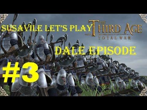 Let's Play Third Age Total War - Dale Pt  3 - игровое видео смотреть