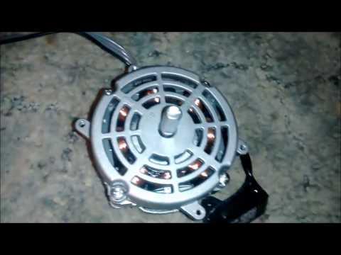 Oiling a Modern box fan