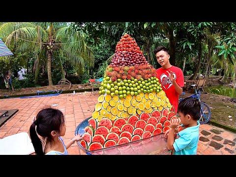 Xây Dựng Kim Tự Tháp Trái Cây ( Fruit pyramid )