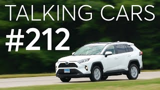 2019 Toyota RAV4 Hybrid Test Results; CR's Tire Purchasing Survey Results | Talking Cars #212