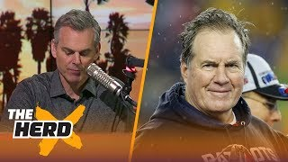 Colin thinks a Patriots - Browns trade around the 2018 NFL Draft makes some sense | THE HERD