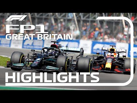 F1第10戦イギリスGP(シルバーストン)のFP1ハイライト動画