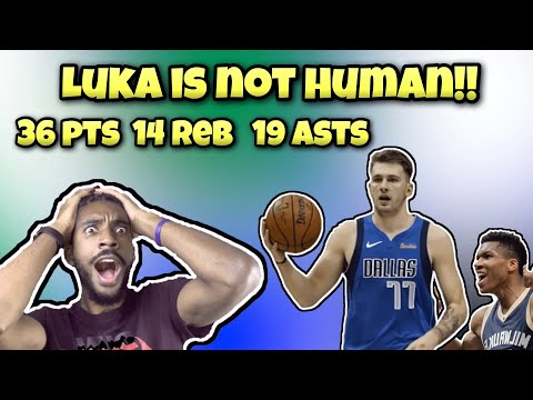 LUKA DONCIC'S TRIPLE DOUBLE TAKES DOWN THE BUCKS (best defense) IN OVERTIME!! 17 TRIPLE DOUBLES