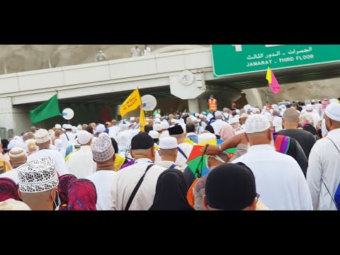 Hajj Group 2018 - Pilgrims flock to Mina at Hajj starts