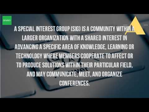 Video Who Are The Special Interest Groups?