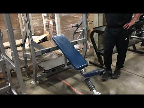 Hammer Strength Olympic Incline Bench Press
