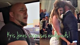 "Kris Jones Surprises Newlyweds with ""Tennessee Whiskey"" At Their Wedding!"