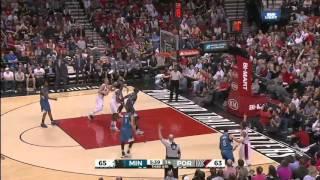 Minnesota Timberwolves vs Portland Trail Blazers | April 9, 2016 | NBA 2015-16 Season