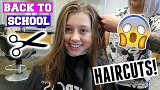 BACK TO SCHOOL TEEN AND KIDS HAIRCUTS!