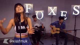 Foxes covers 'Say My Name' & 'Movin Too Fast' | #KISSTORY Live
