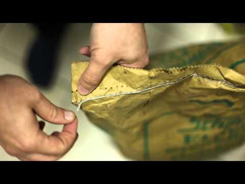 Vernähte Verpackungen öffnen