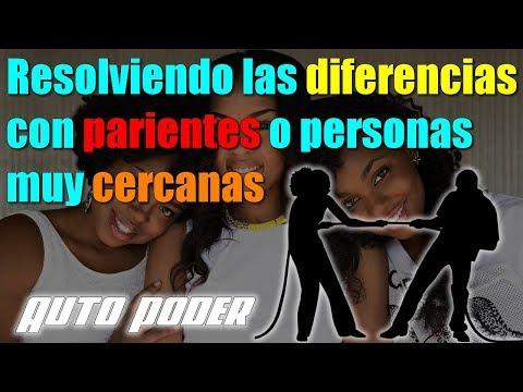 Resolviendo las diferencias con parientes o personas muy cercanas