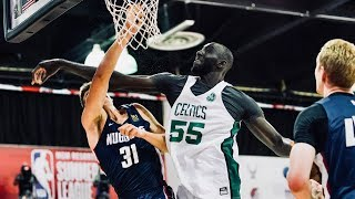 Tacko Fall Made Noise In Summer League After Going Undrafted | Top Highlights From Tournament