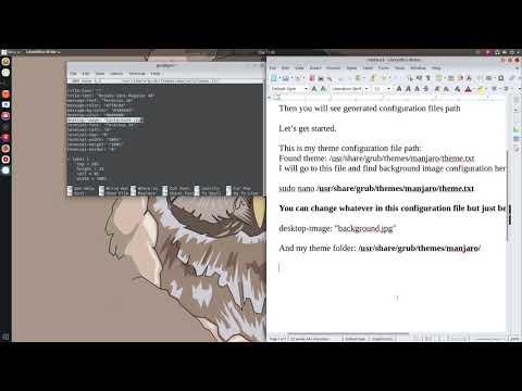 Grub theme for Arch linux - игровое видео смотреть онлайн на