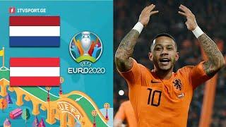 #ევრო2020 ნიდერლანდები ???????? VS ???????? ავსტრია მატჩის საუკეთესო მომენტები