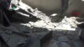 preview picture of video 'سقبا 29-07-2014 أثار القصف بمدفع الفوزديكا على المدينة ليلة ثاني أيام عيد الفطر 1'
